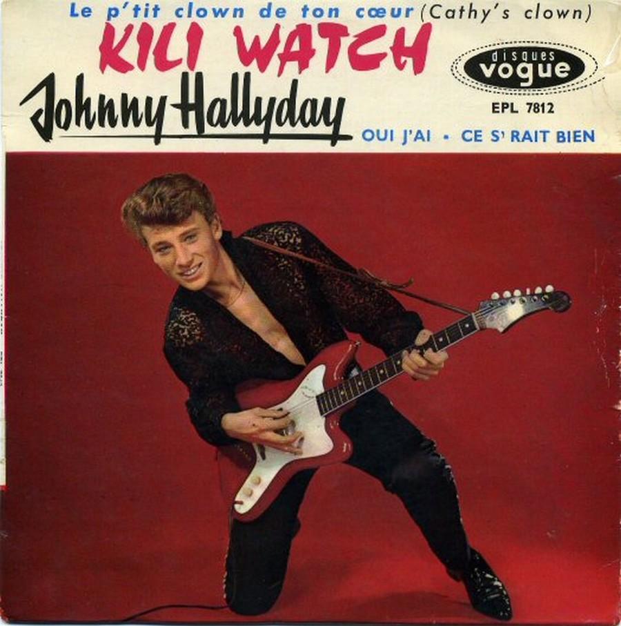 KILI WATCH ( 45 TOURS )( TOUTES LES EDITIONS )( 1960 - 1968 ) 1960_364