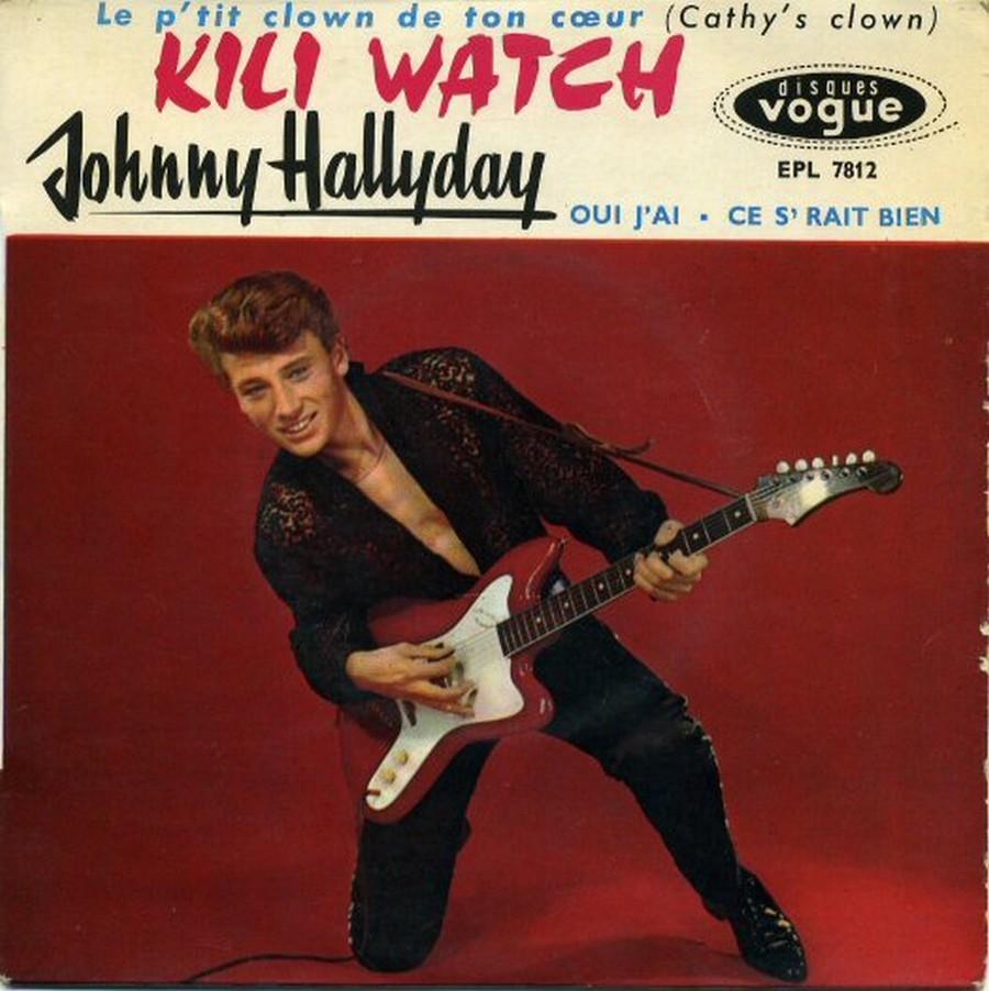 KILI WATCH ( 45 TOURS )( TOUTES LES EDITIONS )( 1960 - 1968 ) 1960_372