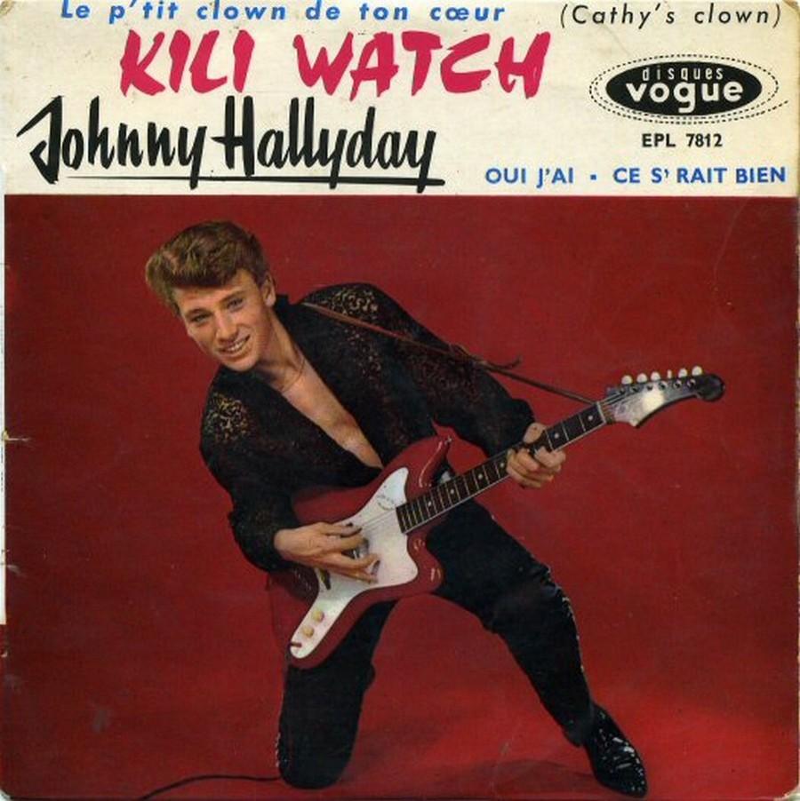 KILI WATCH ( 45 TOURS )( TOUTES LES EDITIONS )( 1960 - 1968 ) 1960_377