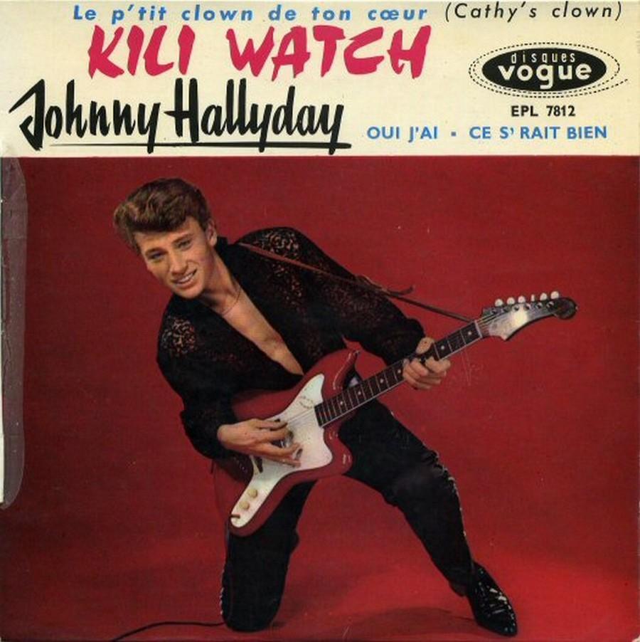 KILI WATCH ( 45 TOURS )( TOUTES LES EDITIONS )( 1960 - 1968 ) 1960_379
