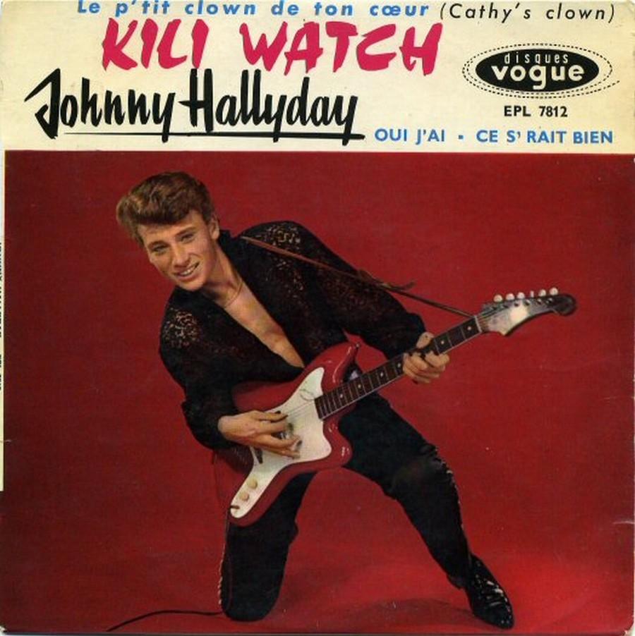 KILI WATCH ( 45 TOURS )( TOUTES LES EDITIONS )( 1960 - 1968 ) 1960_388