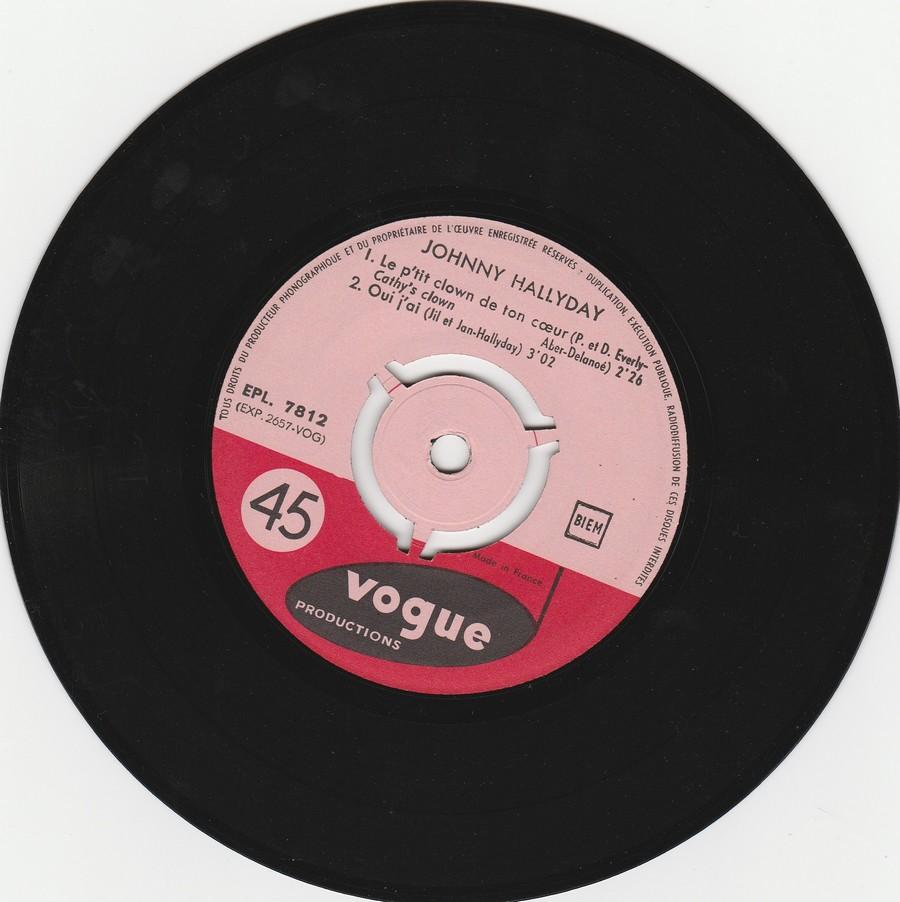 KILI WATCH ( 45 TOURS )( TOUTES LES EDITIONS )( 1960 - 1968 ) 1960_420