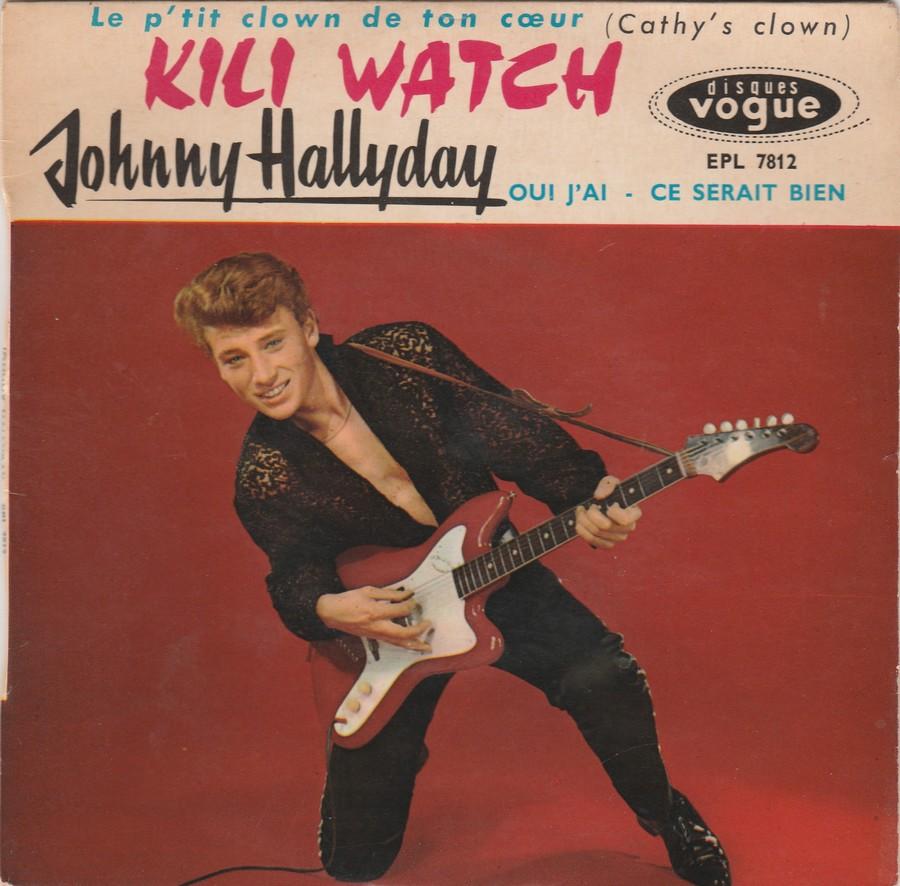 KILI WATCH ( 45 TOURS )( TOUTES LES EDITIONS )( 1960 - 1968 ) 1960_421
