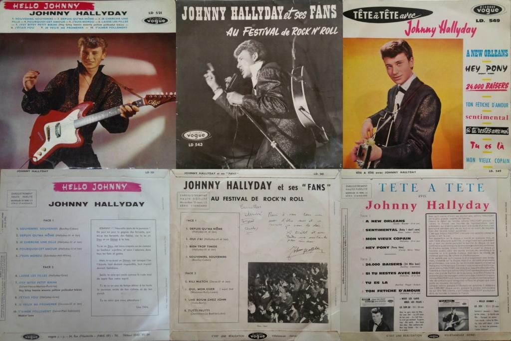 RECAPITULATIF DES ALBUMS 33 TOURS 25CM OFFICIELS ( 1960 - 1964 ) 1960_448