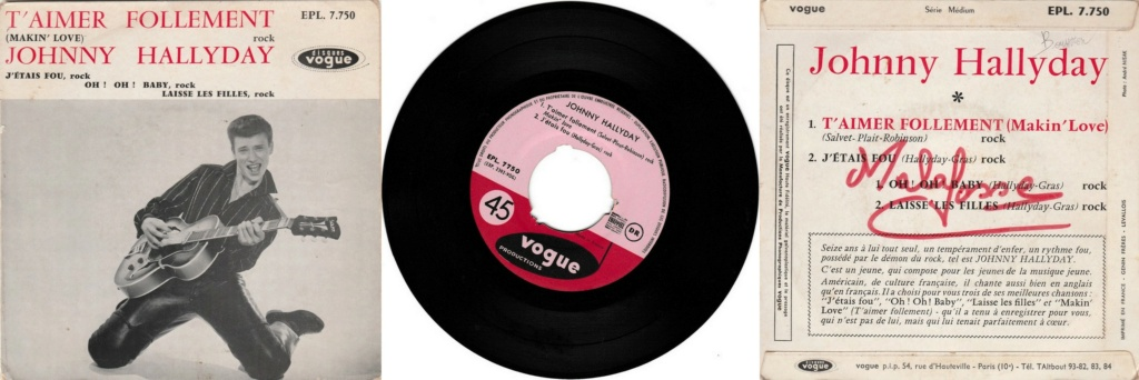 RECAPITULATIF DES ALBUMS STUDIO 33 TOURS OFFICIELS ( 1960 - 2017 ) - Page 2 1960_450