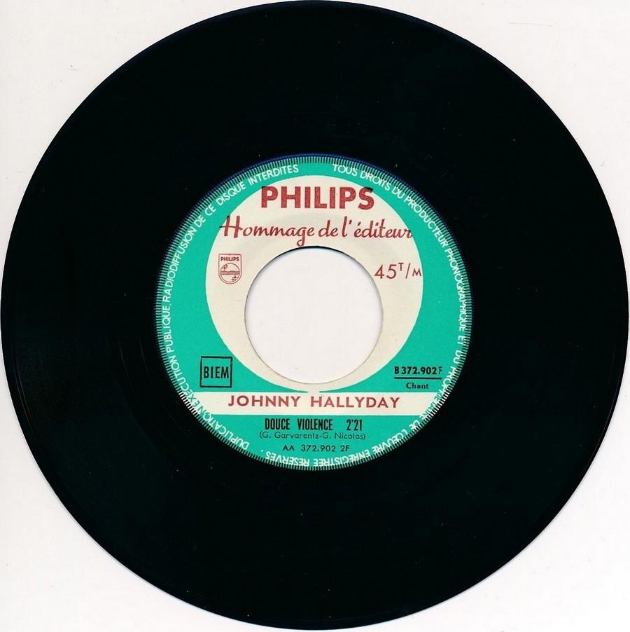 45 TOURS SP PHILIPS ( JUKEBOX )( 1961 - 1969 ) 1961_103