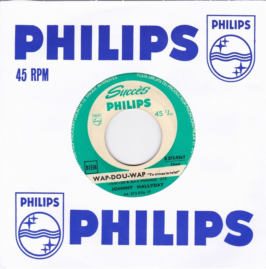 45 TOURS SP PHILIPS ( JUKEBOX )( 1961 - 1969 ) 1961_116