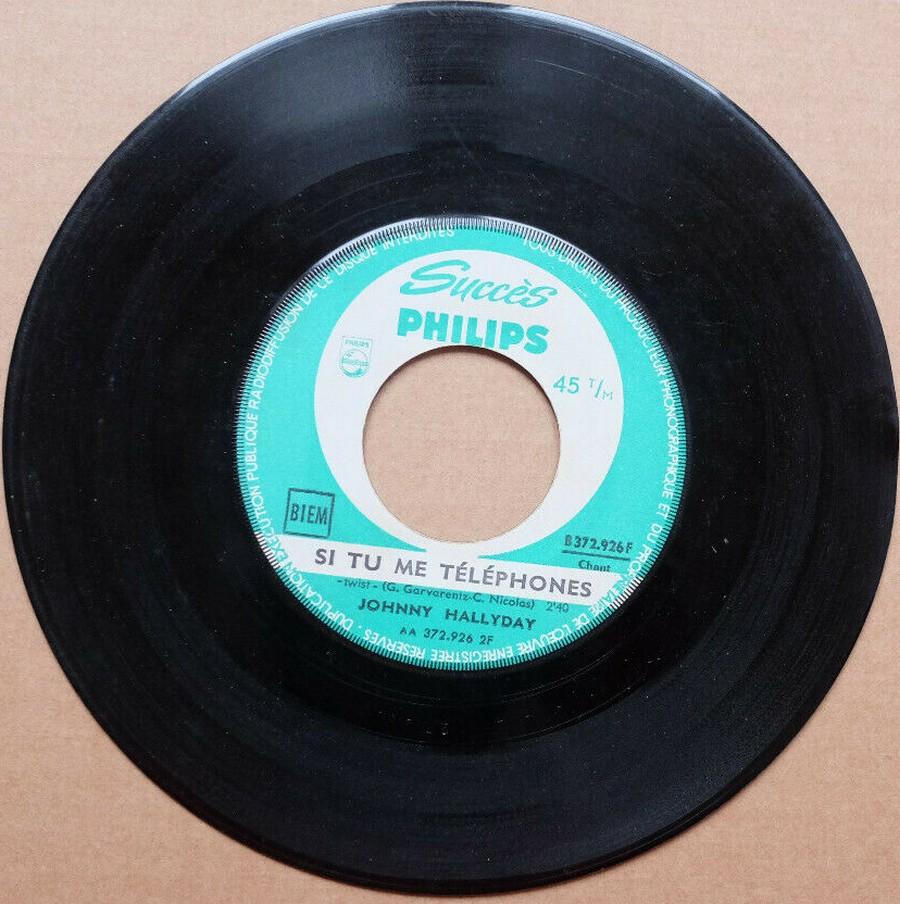 45 TOURS SP PHILIPS ( JUKEBOX )( 1961 - 1969 ) 1961_118