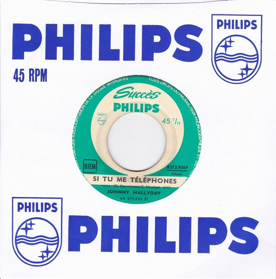 45 TOURS SP PHILIPS ( JUKEBOX )( 1961 - 1969 ) 1961_119