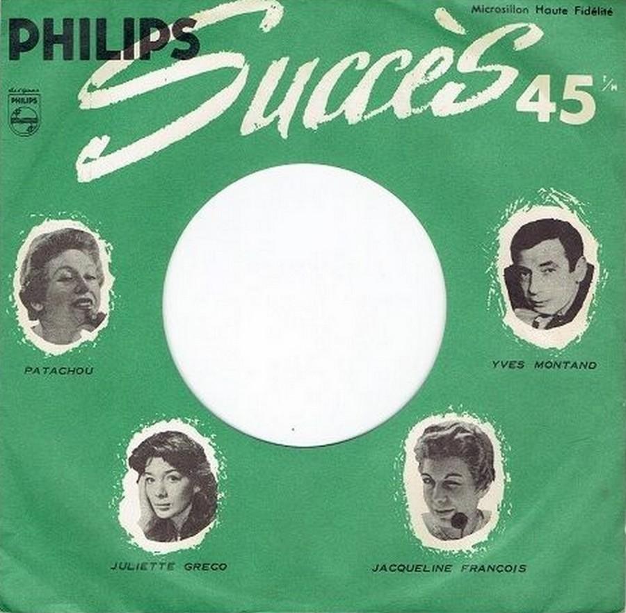 45 TOURS SP PHILIPS ( JUKEBOX )( 1961 - 1969 ) 1961_126