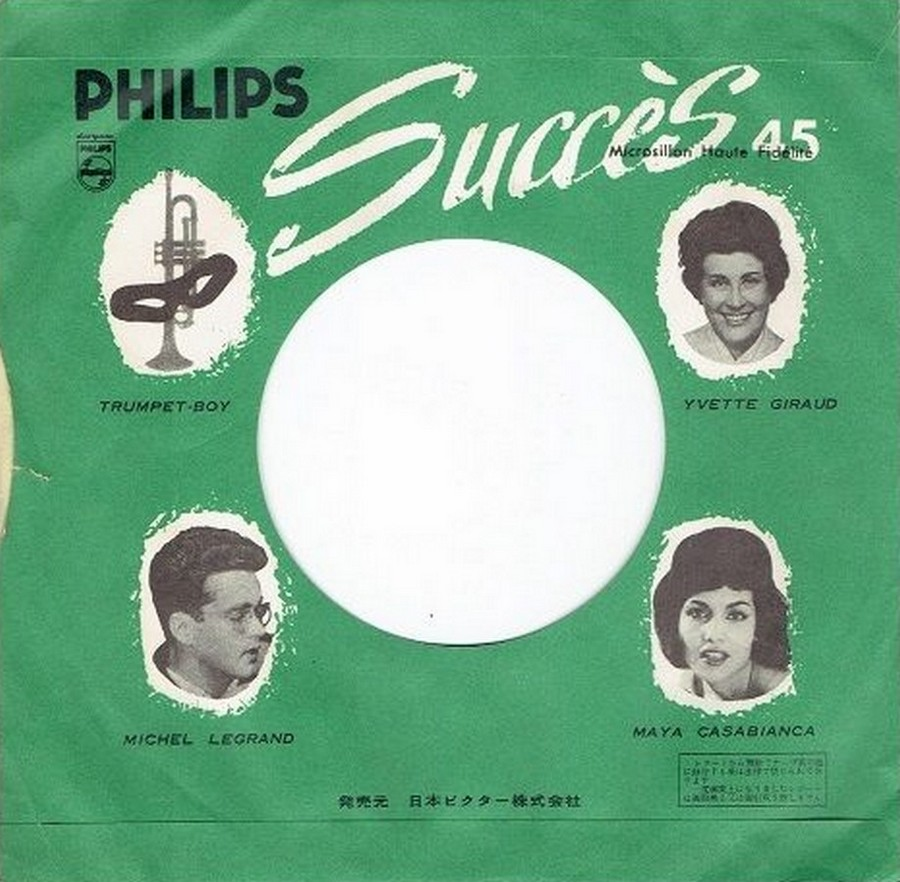45 TOURS SP PHILIPS ( JUKEBOX )( 1961 - 1969 ) 1961_127