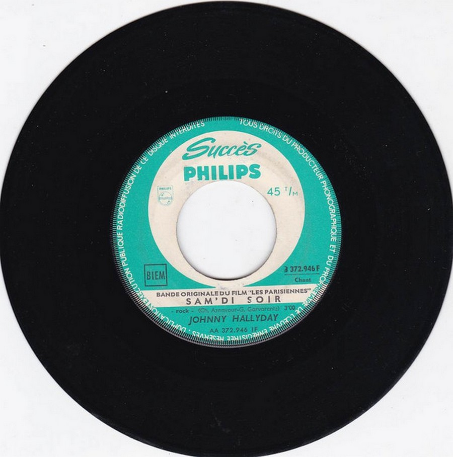 45 TOURS SP PHILIPS ( JUKEBOX )( 1961 - 1969 ) 1961_133