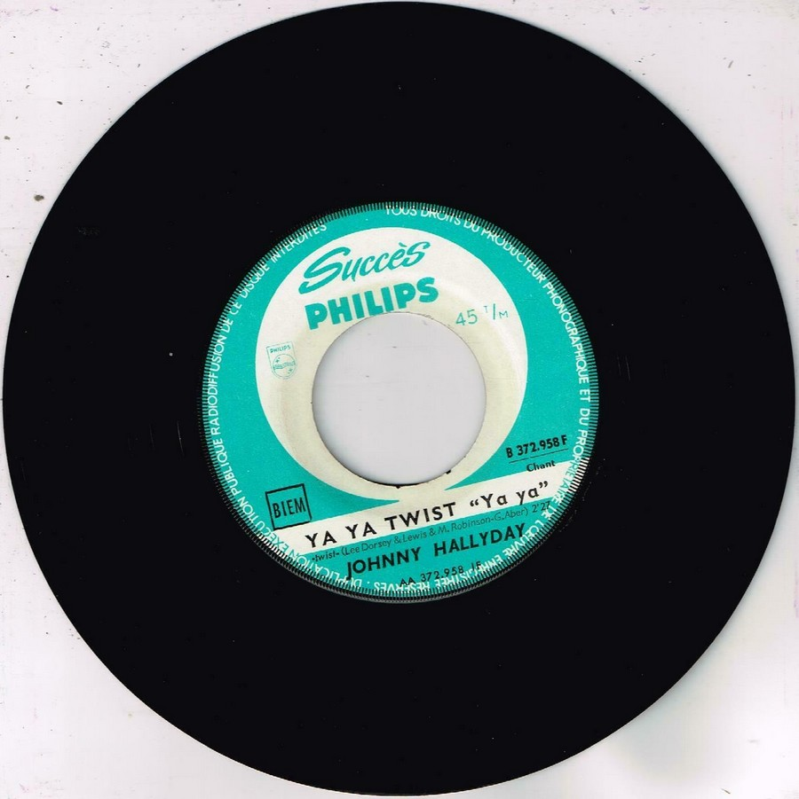 45 TOURS SP PHILIPS ( JUKEBOX )( 1961 - 1969 ) 1961_137