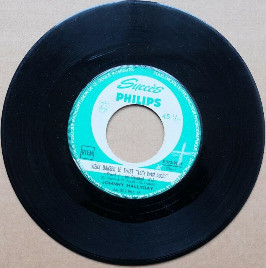 45 TOURS SP PHILIPS ( JUKEBOX )( 1961 - 1969 ) 1961_142
