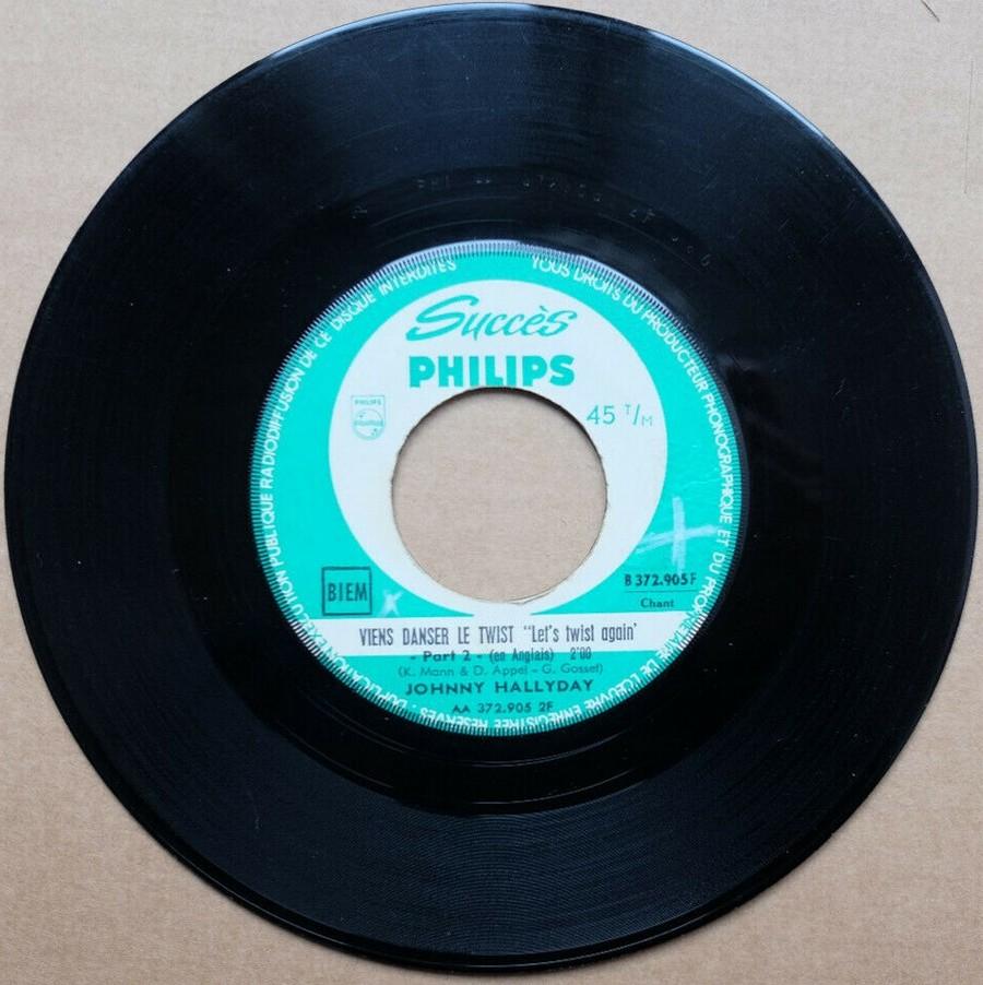 45 TOURS SP PHILIPS ( JUKEBOX )( 1961 - 1969 ) 1961_143