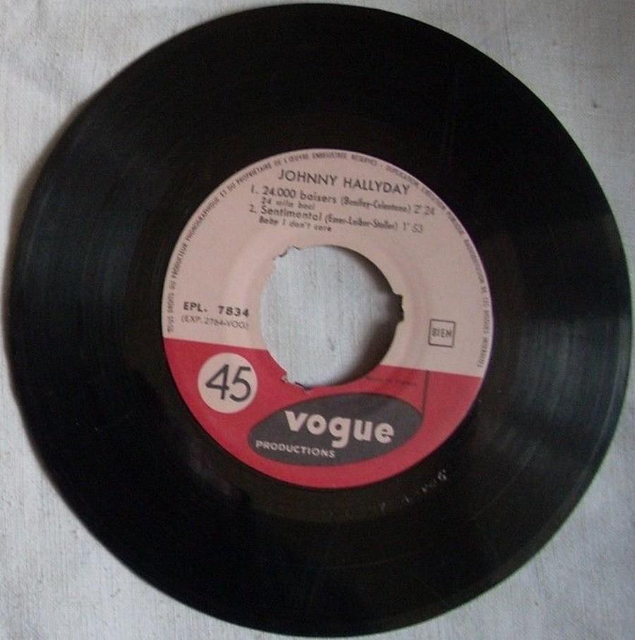 24.000 baisers ( EP 45 TOURS )( TOUTES LES EDITIONS )( 1961 - 2019 ) 1961_209