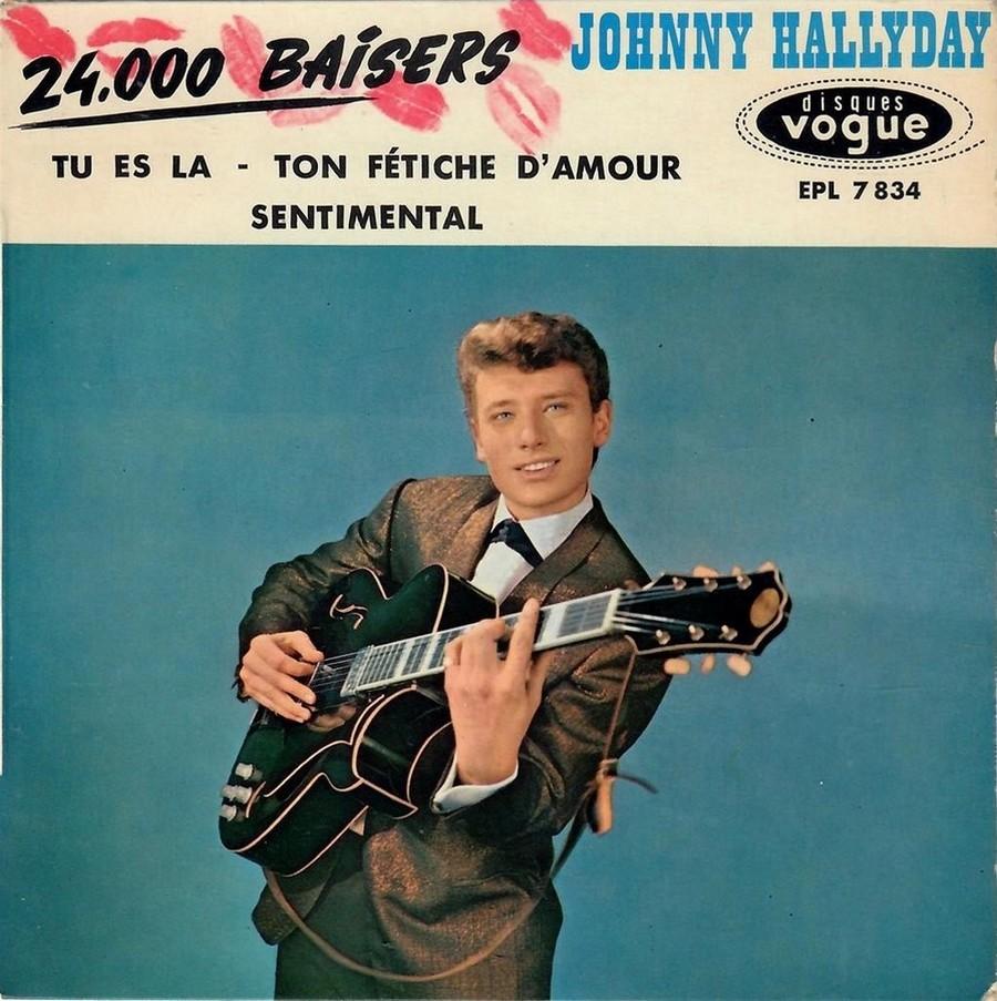 24.000 baisers ( EP 45 TOURS )( TOUTES LES EDITIONS )( 1961 - 2019 ) 1961_211