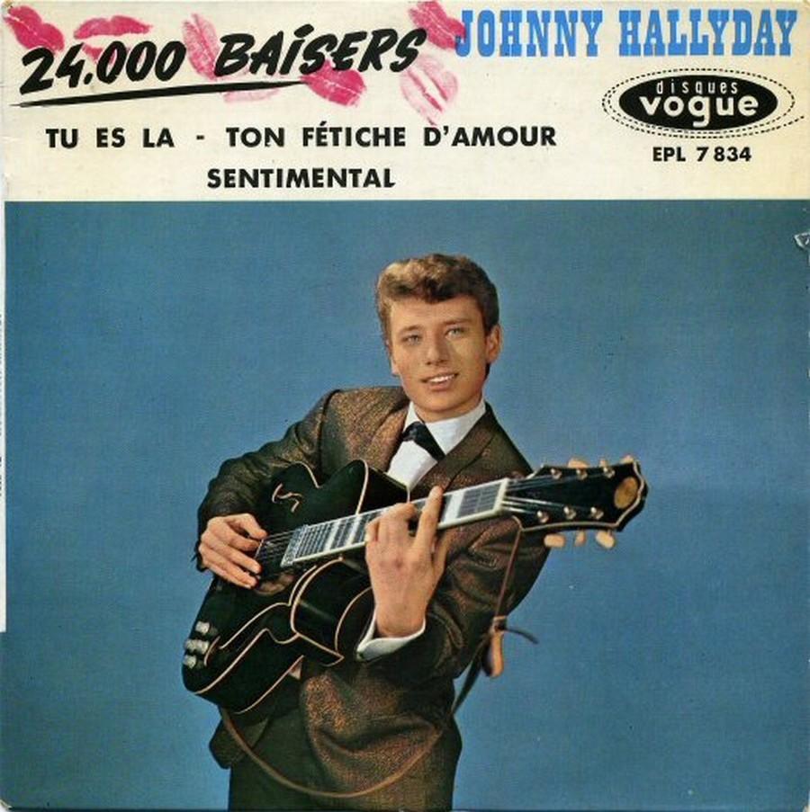 24.000 baisers ( EP 45 TOURS )( TOUTES LES EDITIONS )( 1961 - 2019 ) 1961_216