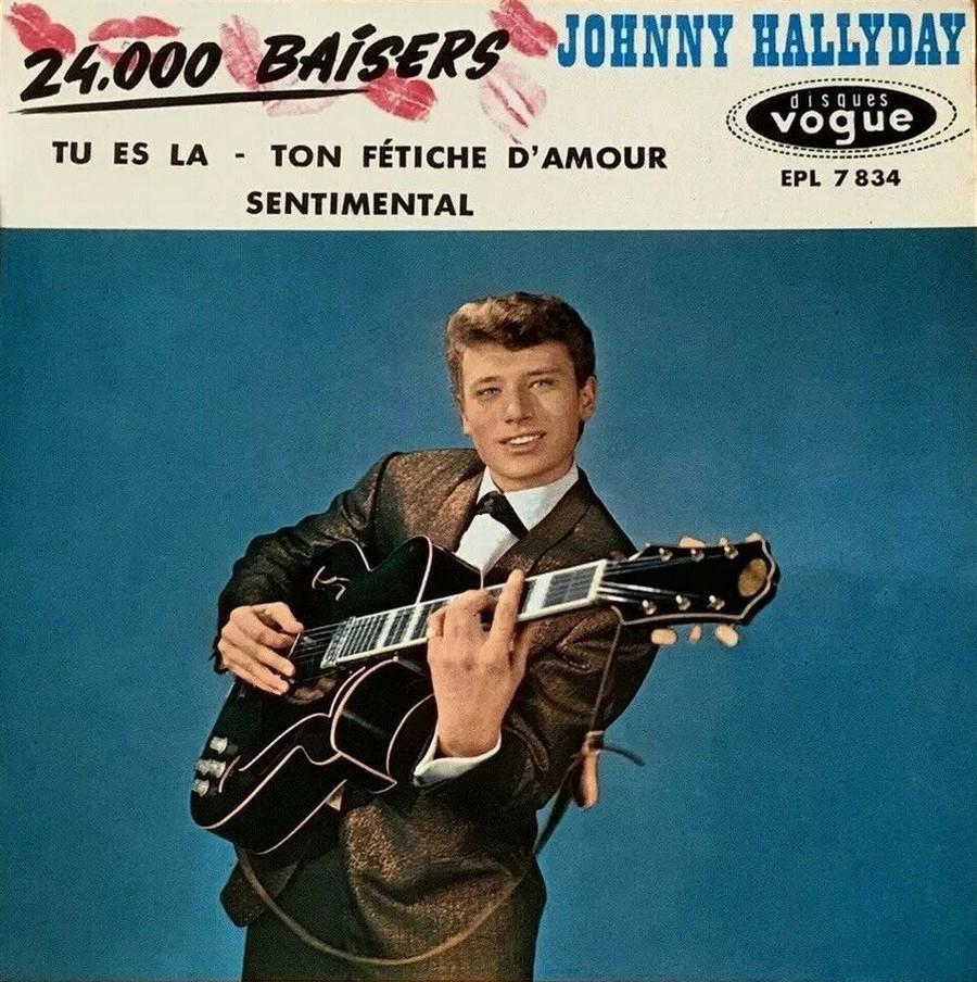 24.000 baisers ( EP 45 TOURS )( TOUTES LES EDITIONS )( 1961 - 2019 ) 1961_224