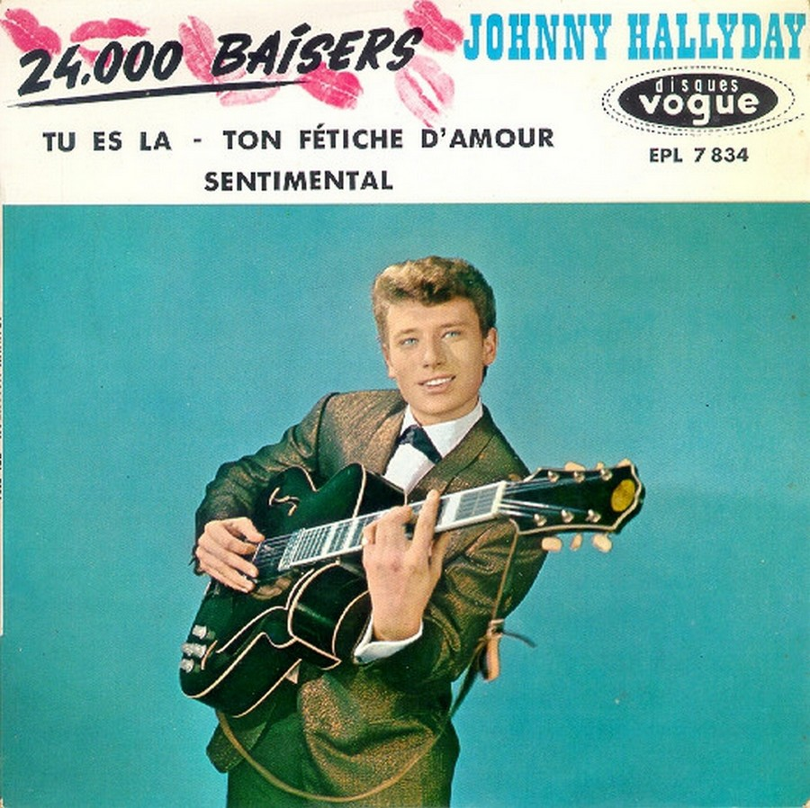 24.000 baisers ( EP 45 TOURS )( TOUTES LES EDITIONS )( 1961 - 2019 ) 1961_228