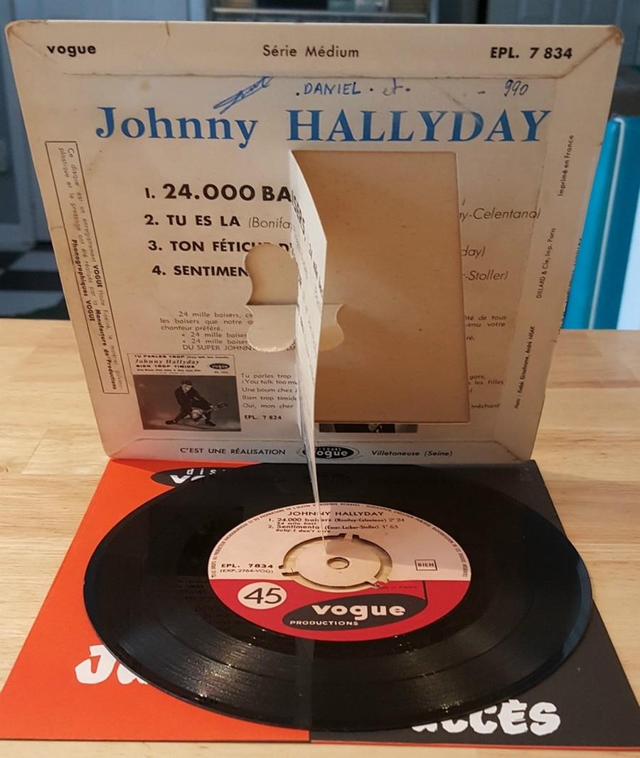 24.000 baisers ( EP 45 TOURS )( TOUTES LES EDITIONS )( 1961 - 2019 ) 1961_229