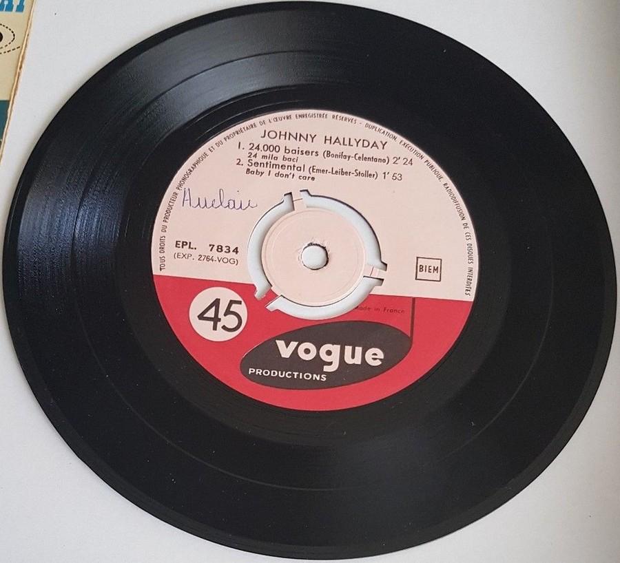 24.000 baisers ( EP 45 TOURS )( TOUTES LES EDITIONS )( 1961 - 2019 ) 1961_230
