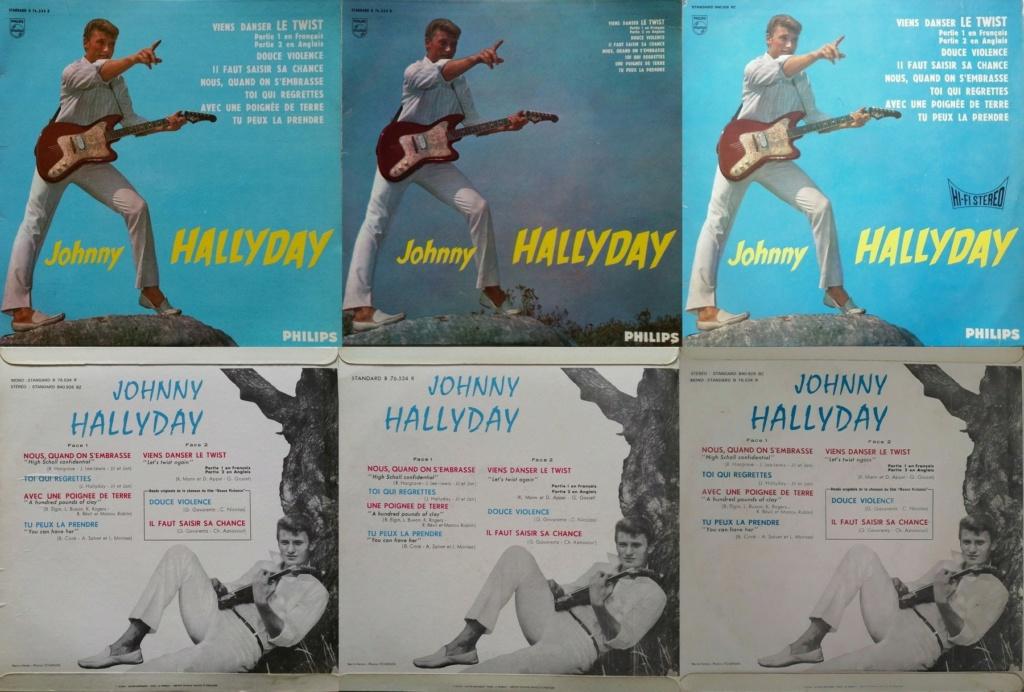 RECAPITULATIF DES ALBUMS 33 TOURS 25CM OFFICIELS ( 1960 - 1964 ) 1961_498