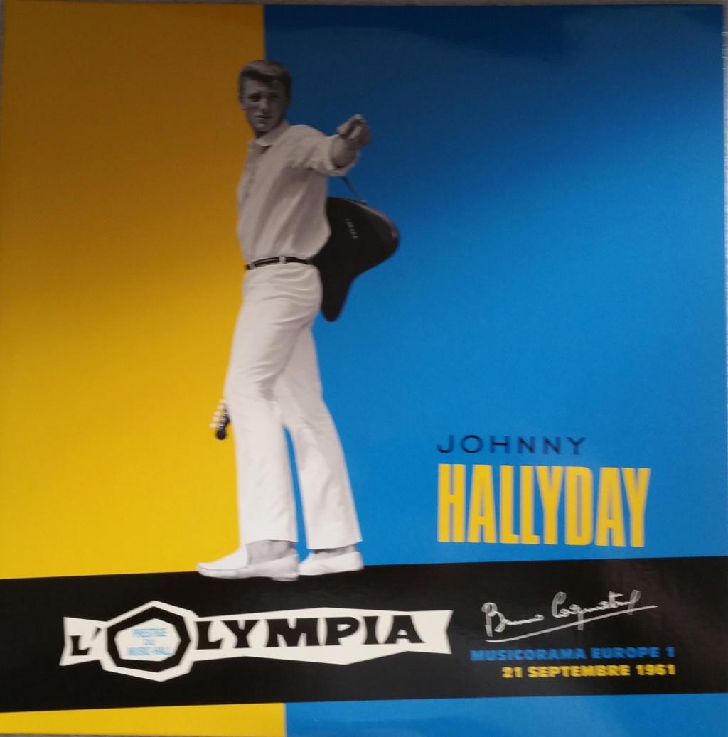 COFFRET OLYMPIA VINYLES ( 7 albums é disques ) 1961_m10