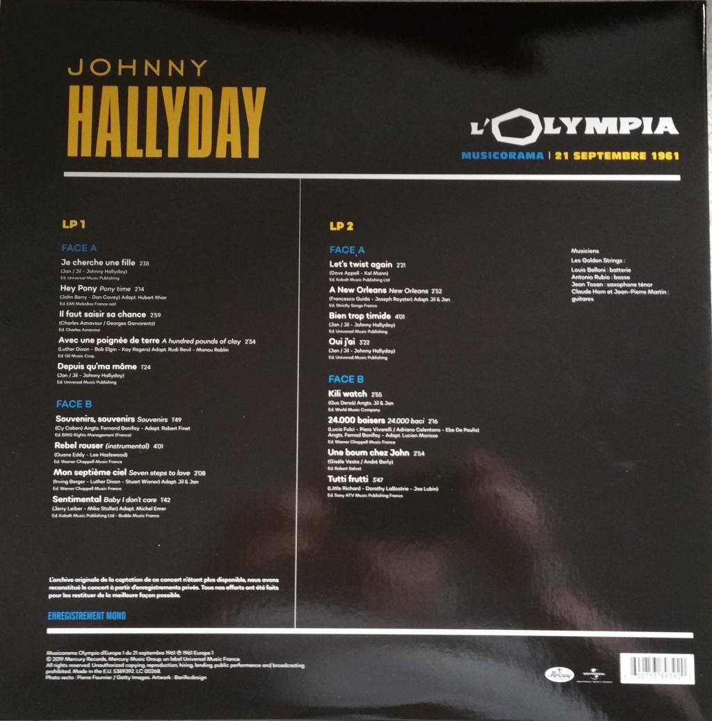 COFFRET OLYMPIA VINYLES ( 7 albums é disques ) 1961_m22