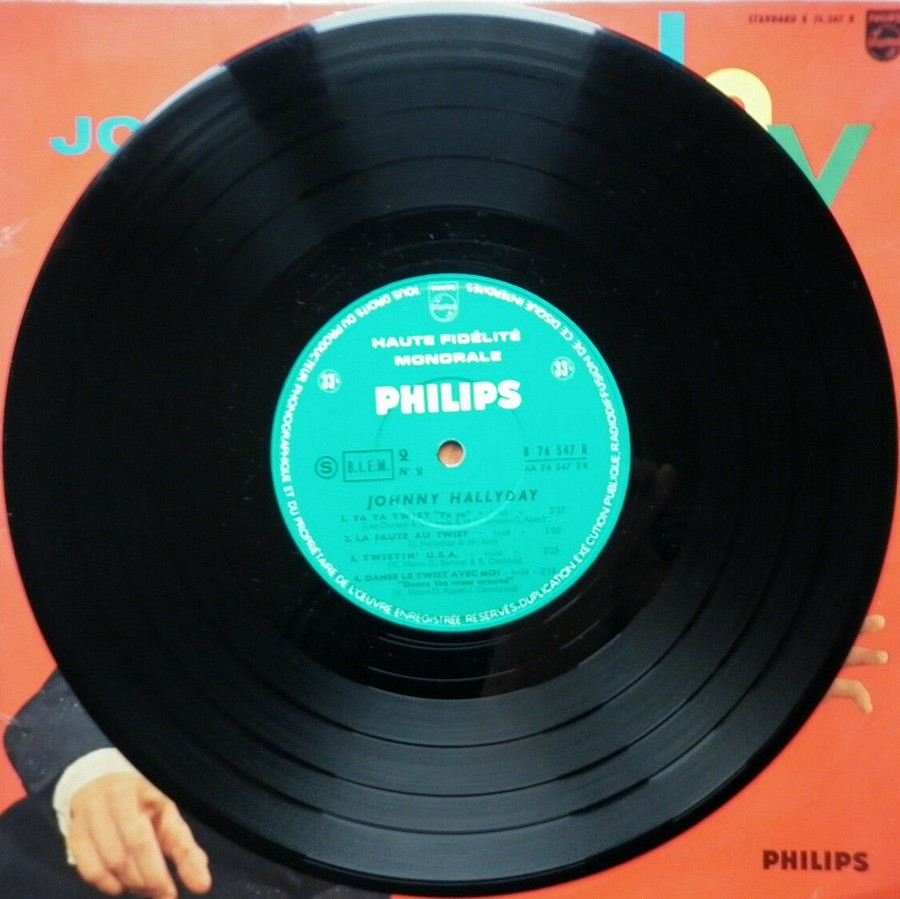 RETIENS LA NUIT ( 25cm )( TOUTE LES EDITIONS )( 1962-2003 ) 1962_068