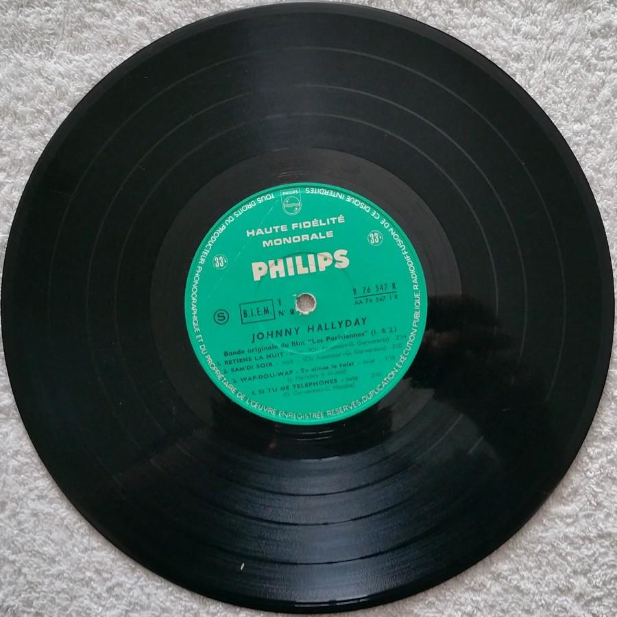 RETIENS LA NUIT ( 25cm )( TOUTE LES EDITIONS )( 1962-2003 ) 1962_075