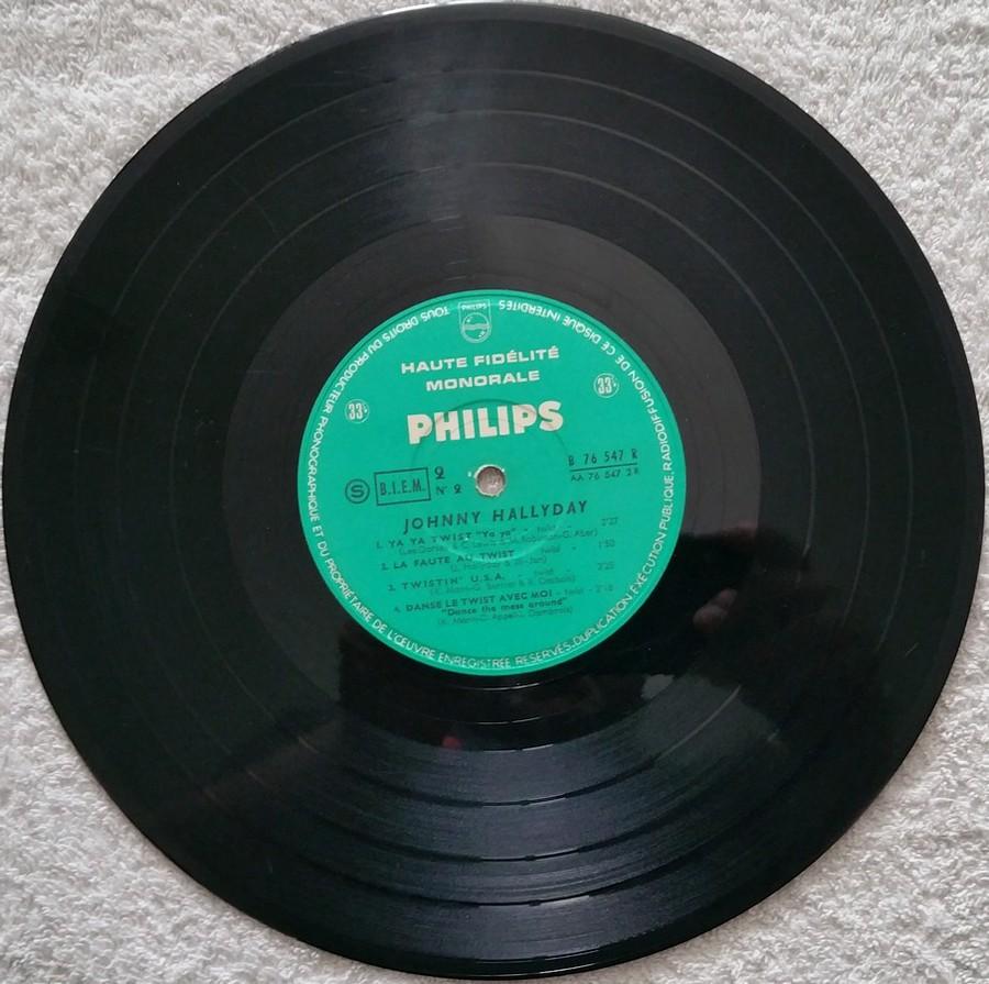RETIENS LA NUIT ( 25cm )( TOUTE LES EDITIONS )( 1962-2003 ) 1962_076