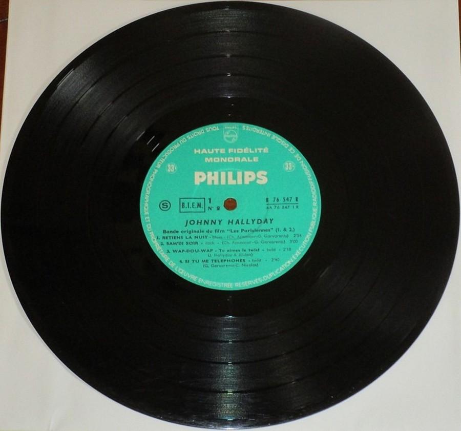 RETIENS LA NUIT ( 25cm )( TOUTE LES EDITIONS )( 1962-2003 ) 1962_083
