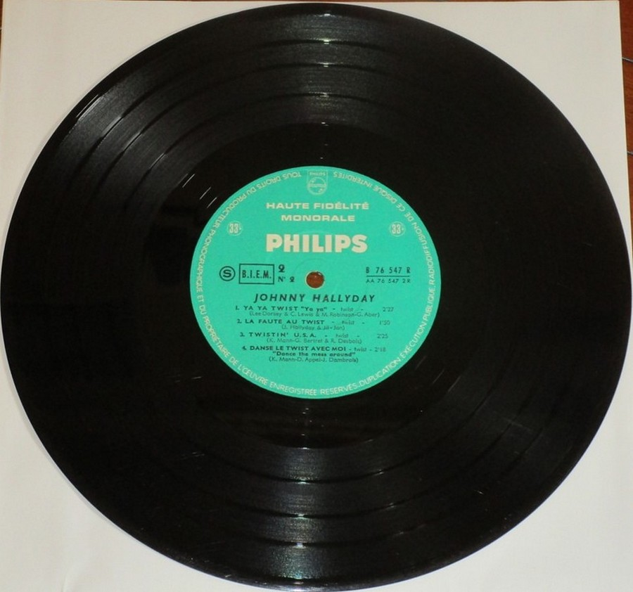 RETIENS LA NUIT ( 25cm )( TOUTE LES EDITIONS )( 1962-2003 ) 1962_084