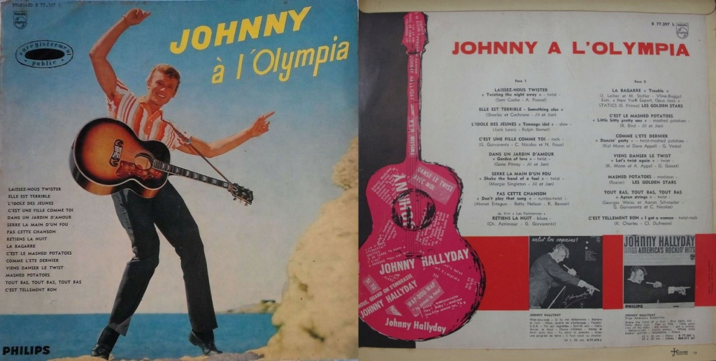 LES CONCERTS DE JOHNNY 'OLYMPIA DE PARIS 1962' 1962_093