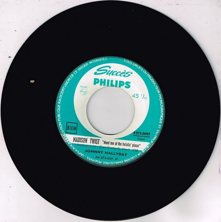 45 TOURS SP PHILIPS ( JUKEBOX )( 1961 - 1969 ) 1962_126