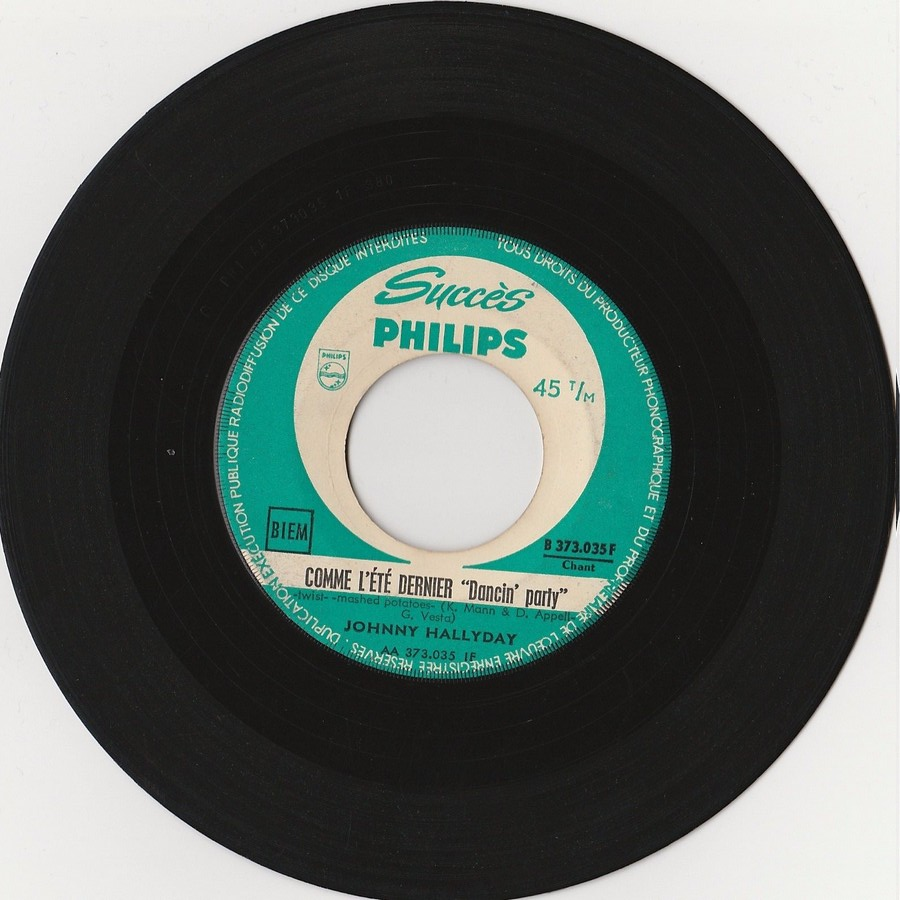 45 TOURS SP PHILIPS ( JUKEBOX )( 1961 - 1969 ) 1962_134