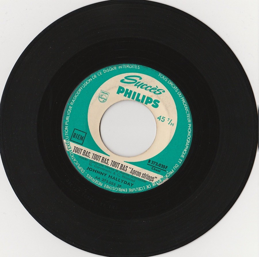 45 TOURS SP PHILIPS ( JUKEBOX )( 1961 - 1969 ) 1962_135