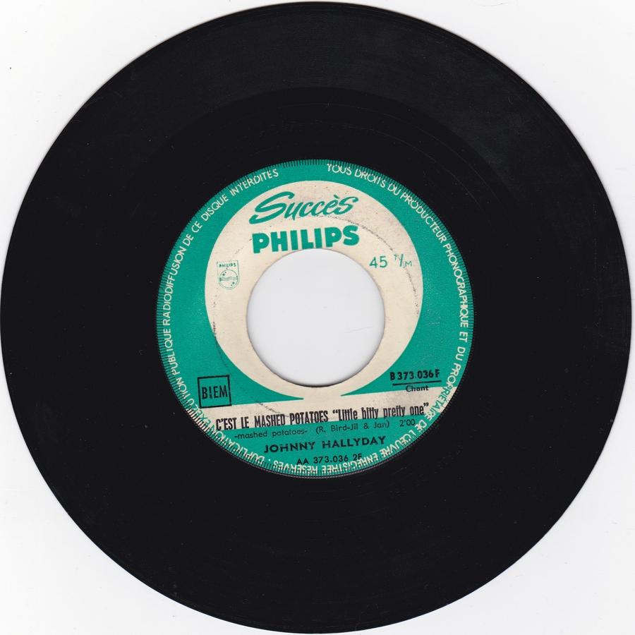45 TOURS SP PHILIPS ( JUKEBOX )( 1961 - 1969 ) 1962_139
