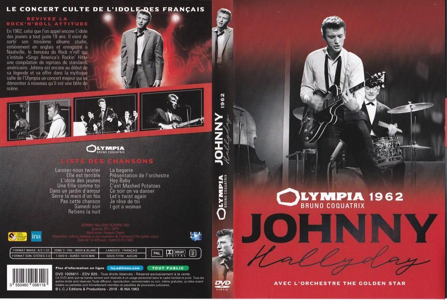 UN SOIR A L 'OLYMPIA - HALLYDAY AND FRIENDS ( 2 CD + 1 DVD ) 1962_o20