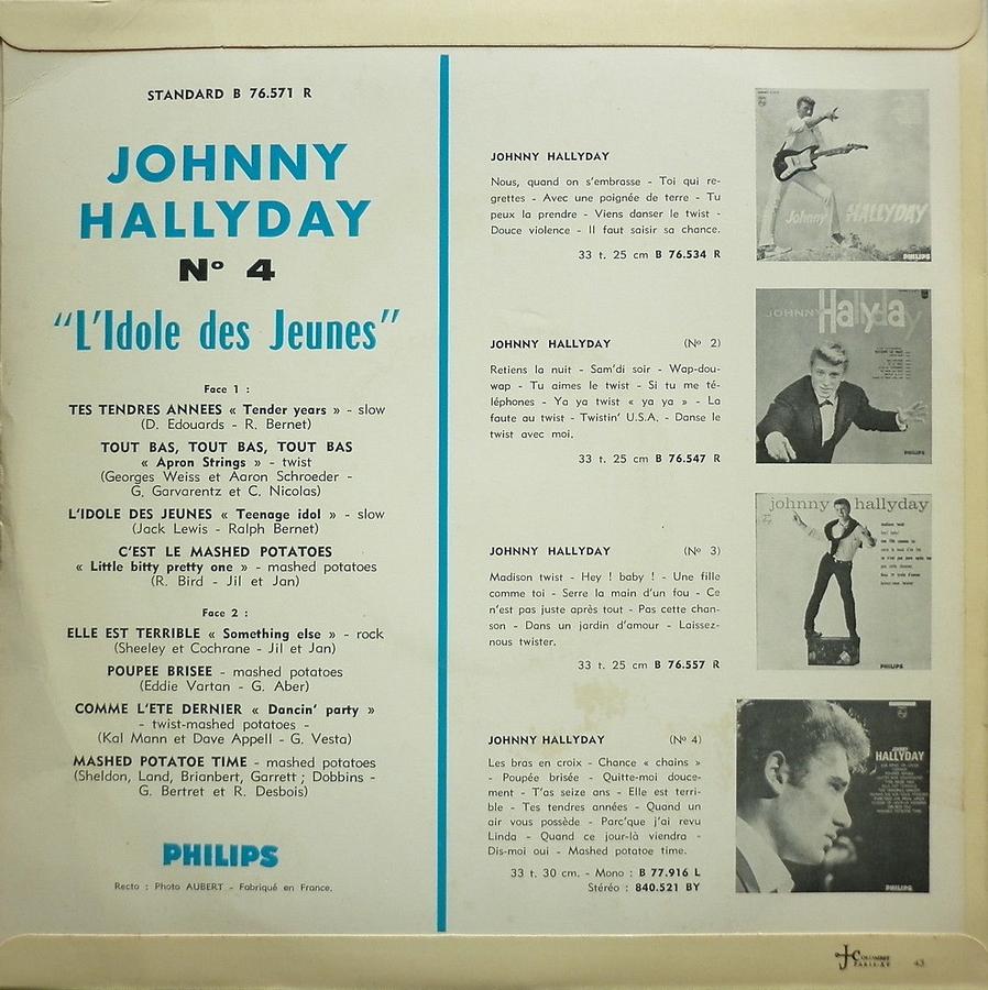 Les 25cm ( Originaux )( Vogue, Philips ) 1963_014