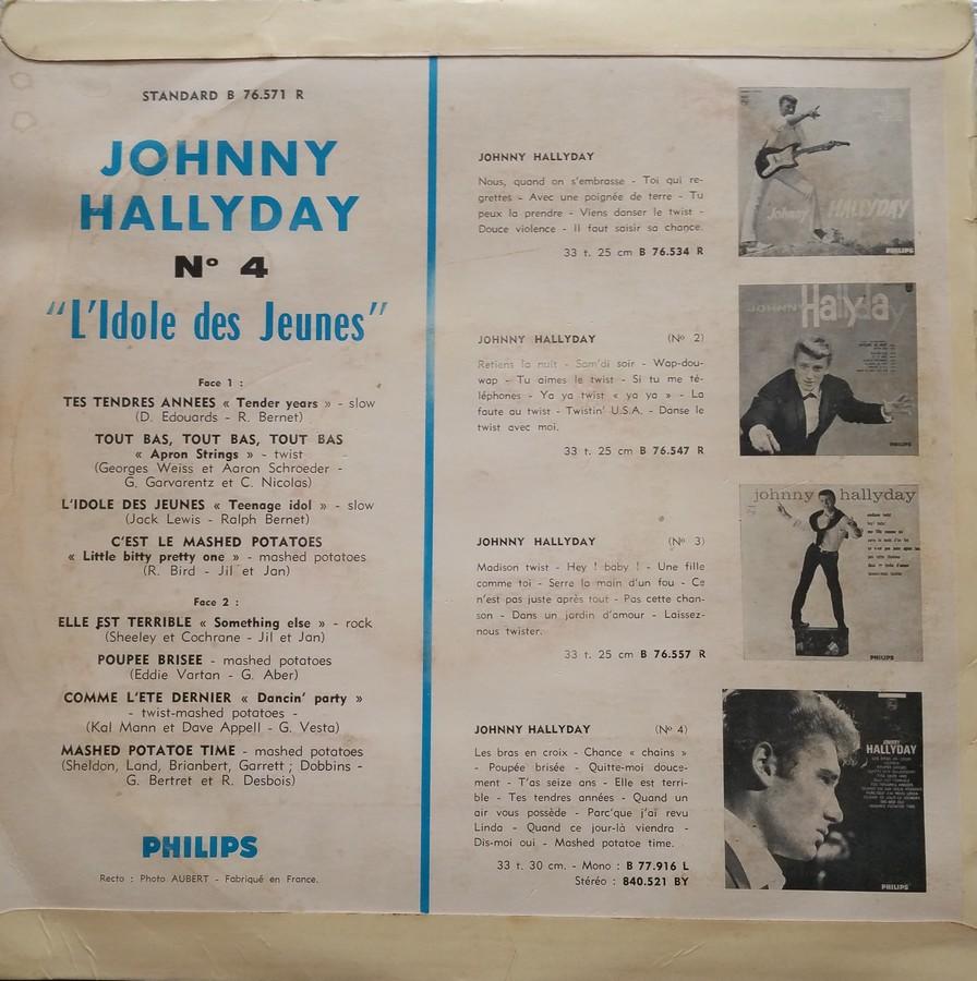 Les 25cm ( Originaux )( Vogue, Philips ) 1963_018