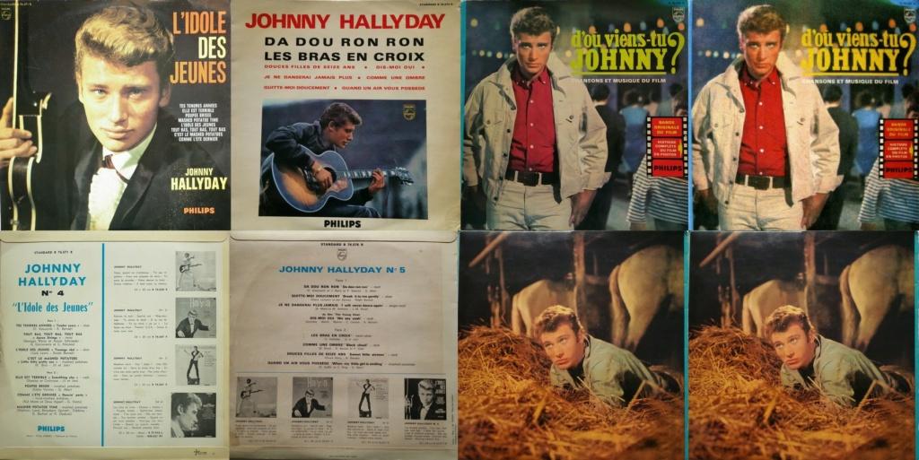 RECAPITULATIF DES ALBUMS 33 TOURS 25CM OFFICIELS ( 1960 - 1964 ) 1963_039