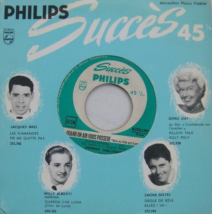 45 TOURS SP PHILIPS ( JUKEBOX )( 1961 - 1969 ) 1963_223