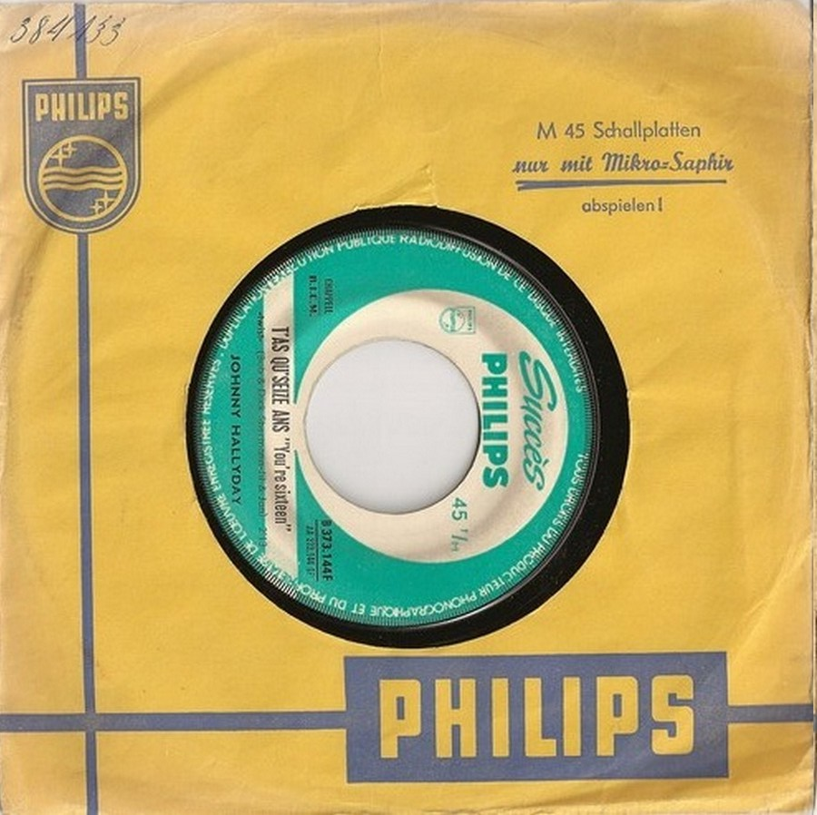 45 TOURS SP PHILIPS ( JUKEBOX )( 1961 - 1969 ) 1963_228