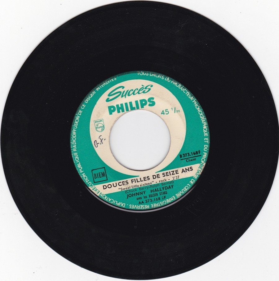 45 TOURS SP PHILIPS ( JUKEBOX )( 1961 - 1969 ) 1963_232