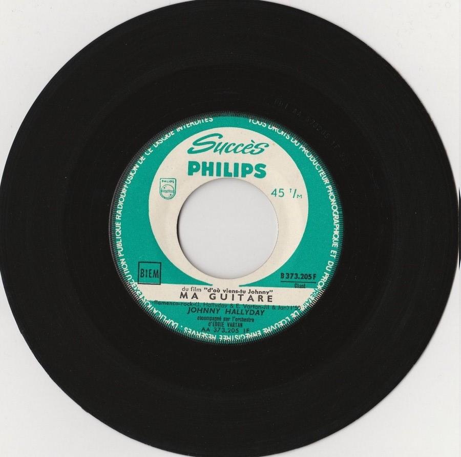 45 TOURS SP PHILIPS ( JUKEBOX )( 1961 - 1969 ) 1963_315