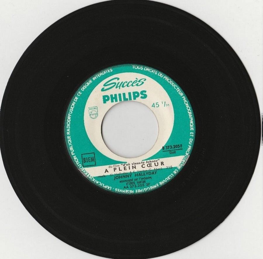 45 TOURS SP PHILIPS ( JUKEBOX )( 1961 - 1969 ) 1963_317