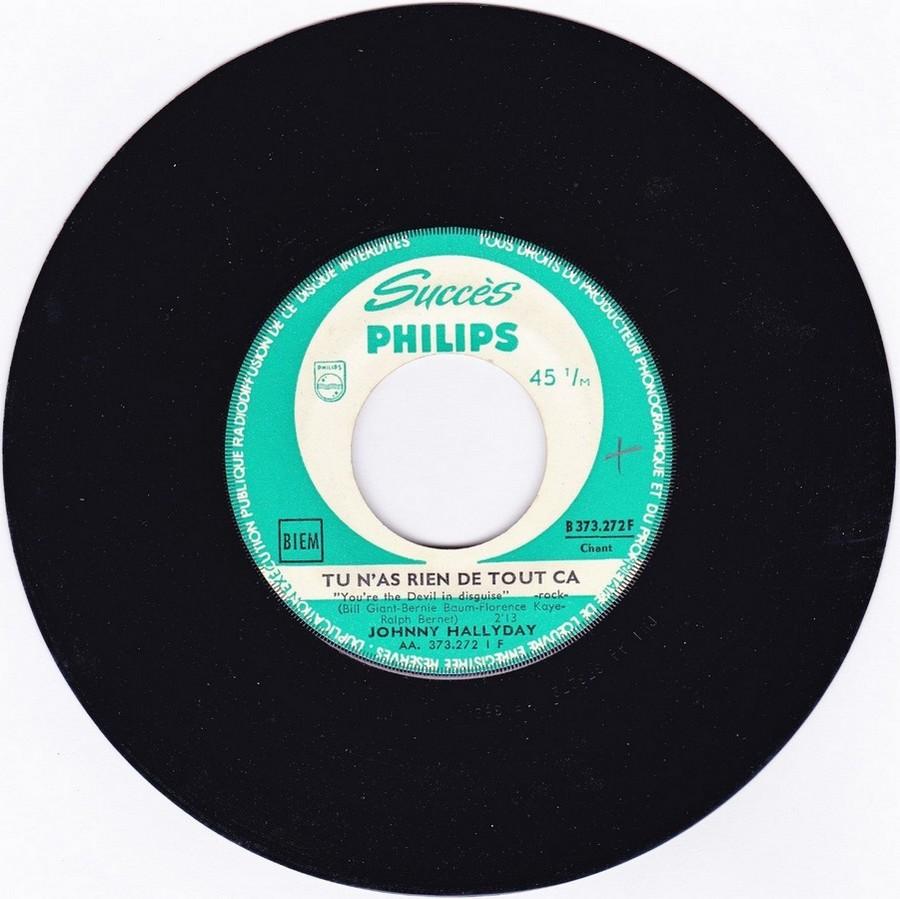 45 TOURS SP PHILIPS ( JUKEBOX )( 1961 - 1969 ) 1963_325