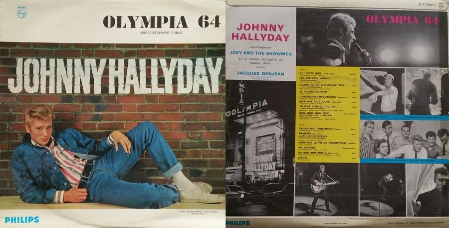 LES CONCERTS DE JOHNNY 'OLYMPIA DE PARIS 1964' 1964_017